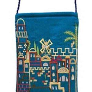 תיק שבת- צבע כחול, ירושלים